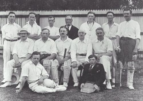 Members of the Clare Cricket Club 1923