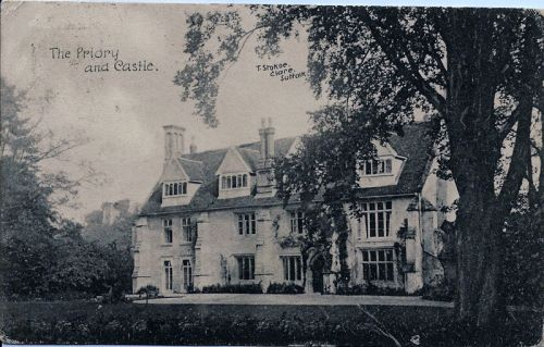 The Priory and Castle 1906