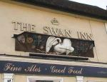 The Swan Inn Pub Sign