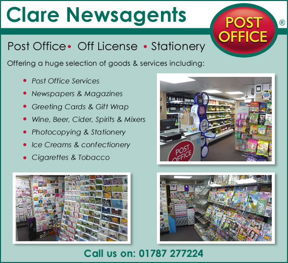 Clare Newsagents - Post Office